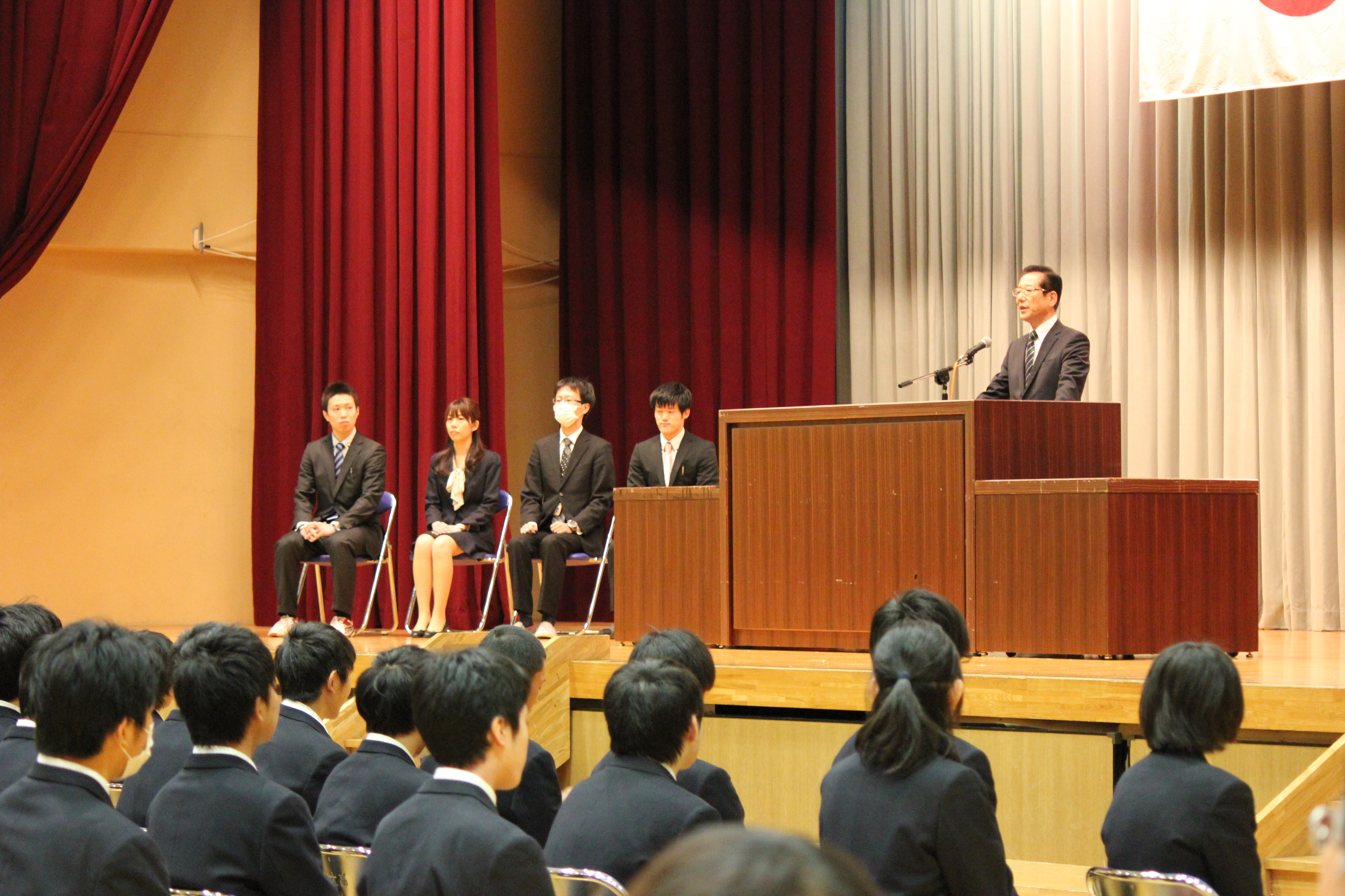 大学と接続した新しい学びの創造 仙台城南高等学校